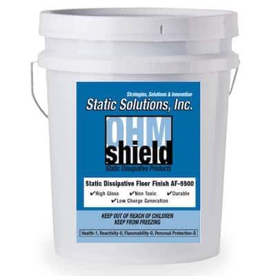 5 Gallon ESD Static Dissipative Floor Finish