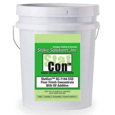 5 Gallons ESD Floor Finish Concentrate with UV Additive